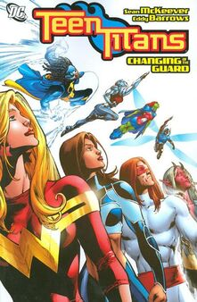 Teen titans changing of the guard tpb