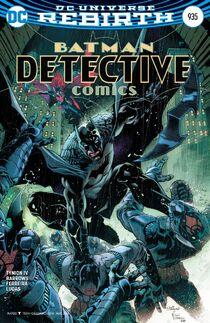 Detective Comics 935 cover