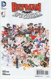 Batman lil gotham 1 cover