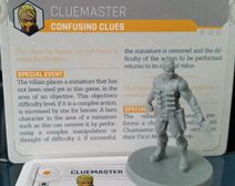 Cluemaster Figure with Card