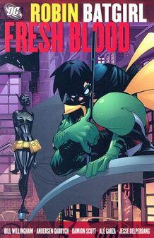 Robin batgirl fresh blood tpb cover