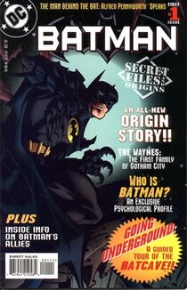 Batman Secret Files and Origins Cover