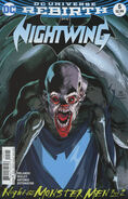 Nightwing 5b cover