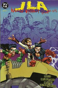 JLA World Without Grownups Cover 1