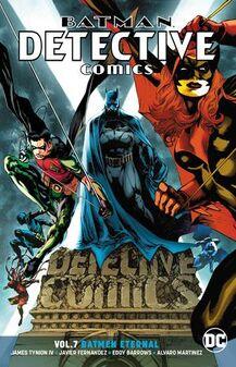 Detective Comics Batmen Eternal TPB Cover