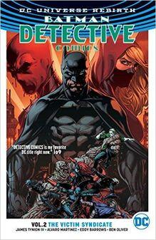 Detective comics victim syndicate cover tpb