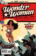 Wonder Woman 600B Cover