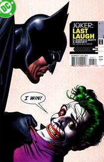 Joker last laugh 6 cover