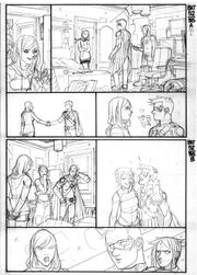 Batman Eternal 52 pencils