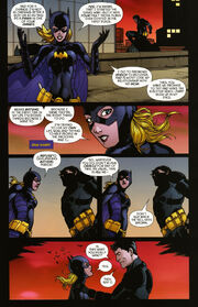 Bruce wayne The Road Home Batgirl (05)