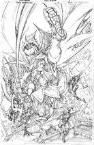 Batman Gotham Knights 012 cover pencils