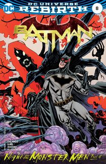 Batman 8 cover