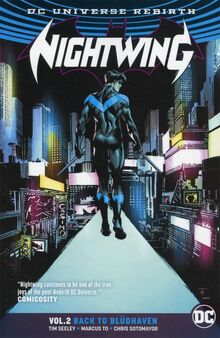 Nightwing Back To Bludhaven TPB Cover