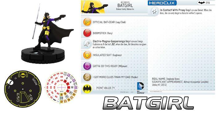 Heroclix Batgirl