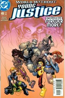 Young justice 45 cover