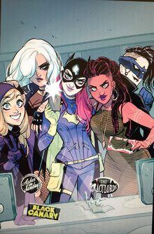 Batgirl 50 cover d