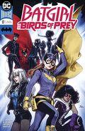 Batgirl Birds of Prey 17B Cover