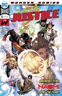 Young Justice 10 cover