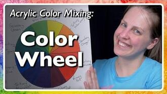 Acrylic Color Mixing Conventional Color Wheel