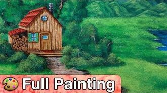 """Stardew Valley - """"Cabin by the Lake"""" Painting (Full Version)"""