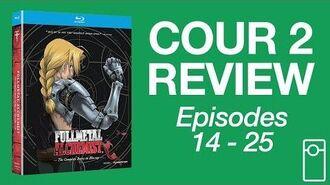 Fullmetal Alchemist Cour 2 Review • 6.15.17
