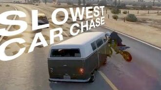 Slowest Car Chase Ever