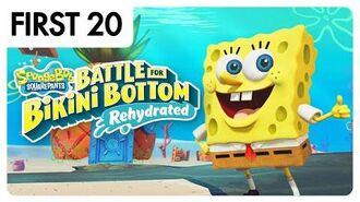 SpongeBob SquarePants Battle For Bikini Bottom – Rehydrated First20