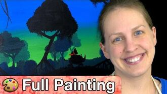 """Donkey Kong Country Tropical Freeze - """"Lost Mangroves"""" Painting (Full Version)"""