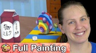 "Katamari Damacy - ""Rolling"" Painting (Full Version)"