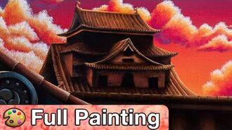 """Street Fighter V - """"Suzaku"""" Painting (Full Version)"""