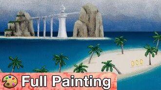 "Sonic Adventure - ""Emerald Coast"" Painting (Full Version)"