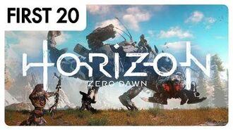 Horizon Zero Dawn - First20