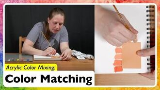 Acrylic Color Mixing- Color Matching