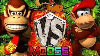 Donkey Kong Country MOOSE - Part 1 -JoshJepson VS StephenPlays-