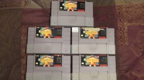 5 Copies of Earthbound (Day 1003 - 8 23 12)