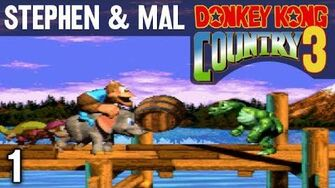 Stephen & Mal Donkey Kong Country 3 1