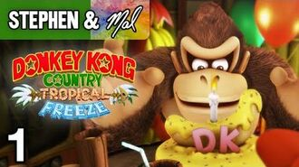 "DKC- Tropical Freeze -1 - ""Winter Is Coming"" (1-1, 1-2, 1-3)"