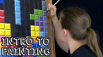 Intro to Painting - Tetris
