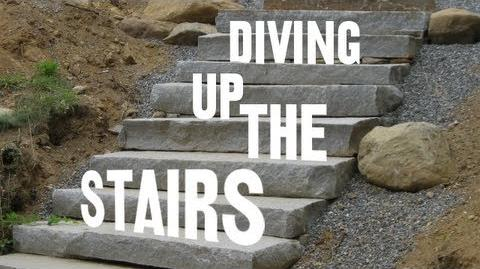 Diving Up The Stairs