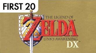 Zelda- Link's Awakening DX - First20