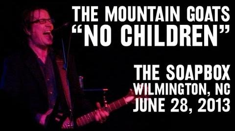 "The Mountain Goats - ""No Children"" (Live at The Soapbox in Wilmington, NC)"