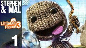 "Stephen & Mal LittleBigPlanet 3 1 - ""Prologue"""