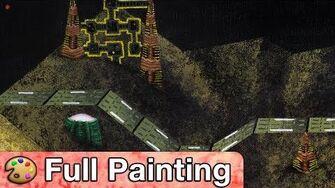 "Super Smash Bros 64 - ""Zebes"" Painting (Full Version)"