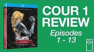 Fullmetal Alchemist Cour 1 Review • 6.8.17