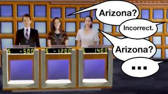 Arizona? No. Arizona? ...Still no