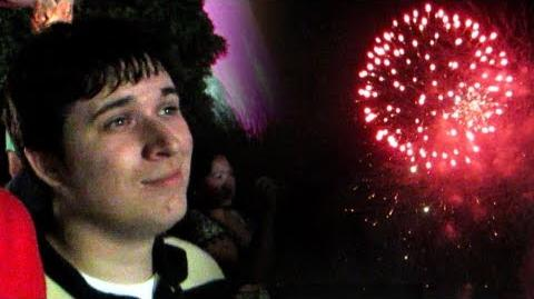 Fireworks! (with Chugga) (Day 1318 - 7 4 13)