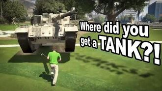 Tank at the Country Club