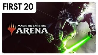 Magic The Gathering Arena • First20