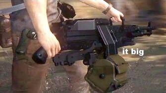 Look How Big This Gun Is!