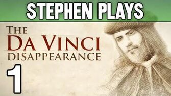 "The Da Vinci Disappearance 1 - ""Roll of the Dice"""